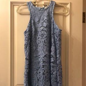 Powder blue dress - worn once